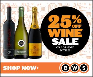 25% off Wine