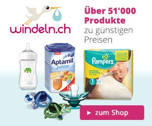 Über 51'000 Babyartikel bei Windeln.ch online kaufen