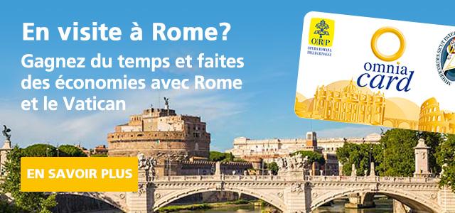 Carte multipass omnia pour Vatican et Rome