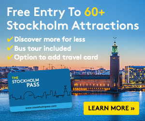 Pack multi-Day Stockholm Pass + TRAVELCARD