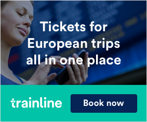 Trainline Euro Bus Tickets