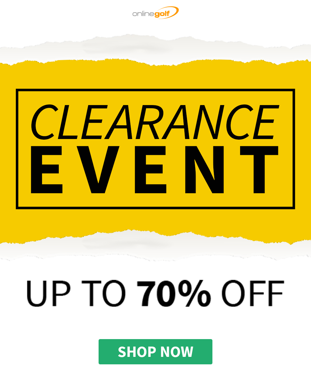 Clearance Event at Online Golf
