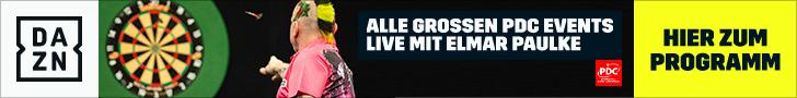 DAZN - Alle Großen PDC Events Live mit Elmar Paulke